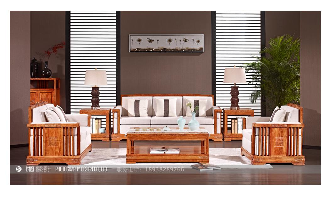新中式红木家具摄影|创意红木家具摄影|高端摄影